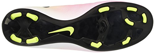 Nike Mercurial Victory V FG, Scarpe da Corsa Uomo Bianco (White/Black-volt-total Orange)