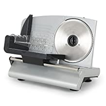 "DELLA 048-GM-48262 150W Electric Meat Slicer Food, 7.5"", Silver, Small"