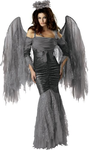 InCharacter Elite Collection Fallen Angel Adult Costume, Small -