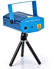 150MW Mini Red & Green Moving Party Laser Stage Light laser DJ party light Twinkle 110-240V 50-60Hz With Tripod GH4353