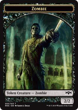 Zombie Token - Magic: The Gathering - Zombie Token - Ravnica Allegiance