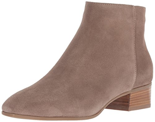 Aquatalia Women's Fuoco Suede Ankle Boot Taupe 10 M US