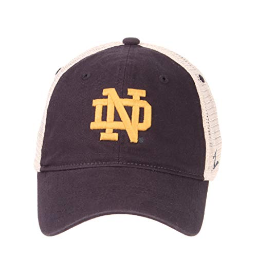 d1696479b3a16 ... Vintage- University- Adjustable Trucker Hat Cap-Notre Dame Fighting  Irish. Free Shipping Free Shipping