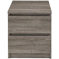 Tvilum 71098cj Aurora 6 Drawer Double Dresser, Truffle