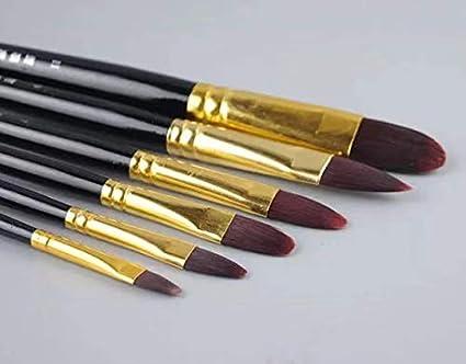 Amazon Com Xdt 946 Filbert Style Paint Brush Artist