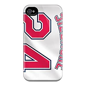 Luoxunmobile333 Snap On Hard Cases Covers Cleveland Indians Protector Ipod Touch 4