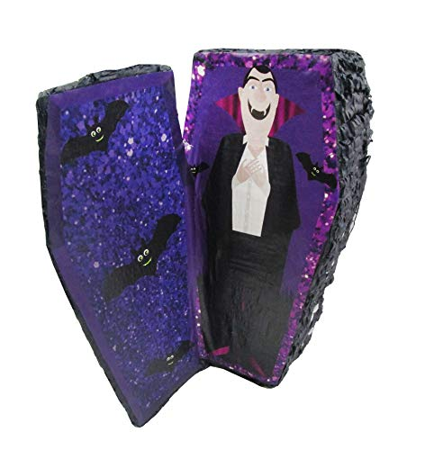 Dracula Vampire in Coffin Pinata - Halloween Party Game, Photo Prop and Decoration