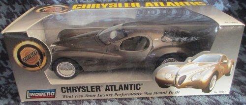 #72817 Lindberg Chrysler Atlantic Concept Vehicle 1/25 Scale Plastic Promo Model,Fully Assembled (Promo Model Car)