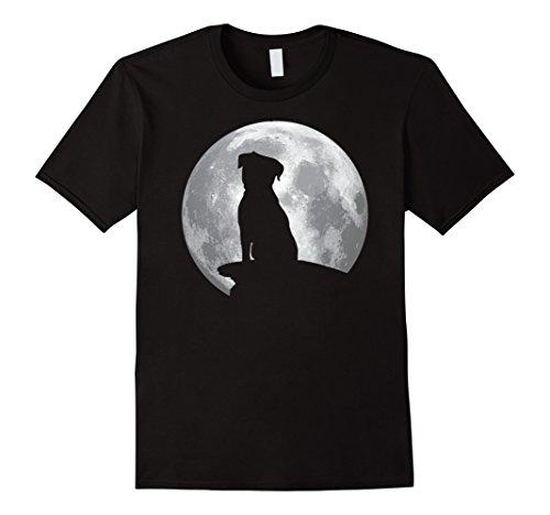 Border Terrier Halloween Costume (Mens Border Terrier Eclipse Full Moon T-shirt Halloween Costume 3XL Black)