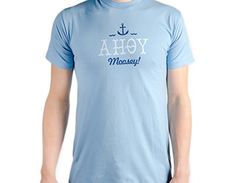 - Moosylvania Ahoy Moosey Short Sleeve T-Shirt, XX-Large, Custom Design, Unisex