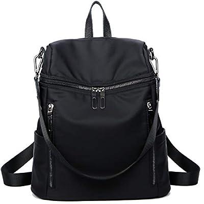 LEADO Fashion Backpack Purse for Women Girls, Nylon Lady Travel Backpack School Shoulder Bag Daypack