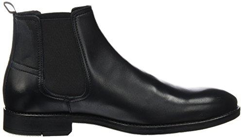 BIANCO Chelsea Männer Boots, Stivali Chelsea Uomo Nero (Nero)