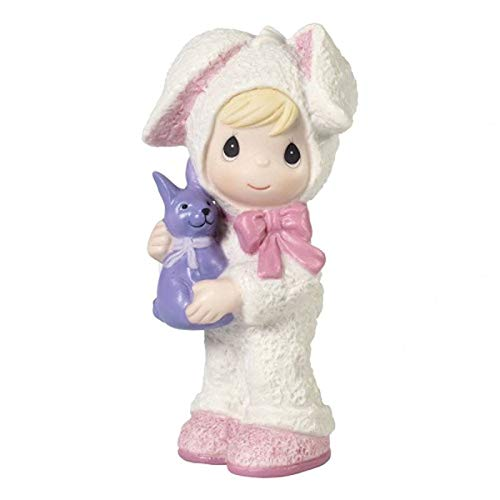 (Precious Moments Special Girl Dressed As Easter Bunny, Multi)
