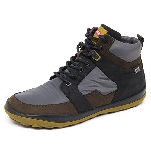 Verde Uomo D9650 Man Camper Scarpa Grey Grigio Box Nero Tissue Nabuk Green Shoe Without UPqBg