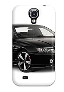 Flexible Tpu Back Case Cover For Galaxy S4 - Holden Ss Black White Cars Other