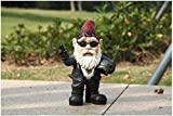 Gnome Biker With Sunglasses/Helmet For Sale