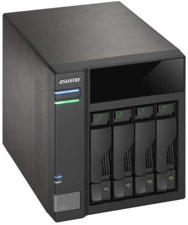 ASUSTOR as6004u 4àBay NAS de Sistemas, USB 3.0à(G1) Type B