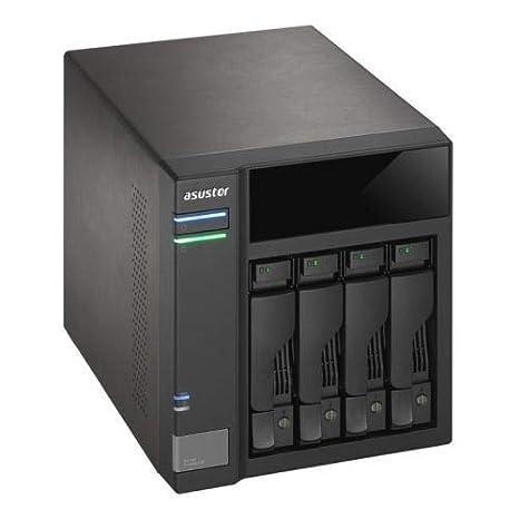 ASUSTOR as6004u 4ÃÂ Bay NAS de Sistemas, USB 3.0ÃÂ (G1) Type ...