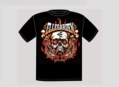 Mサイズ スカルTシャツ ELLEGARDEN エルレガーデン グッズ 2018の商品画像