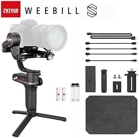 ZHIYUN Weebill S 3軸スタビライザー ミラーレスカメラ用 OLEDディスプレイ 手持ちジンバル