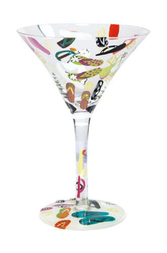 - Lolita Love My Martini Glass, Flip Flops