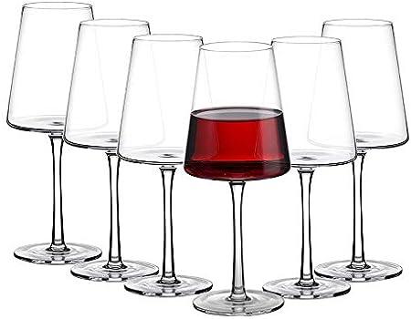 DISEÑADO PARA SOMMELIER - Con estas excelentes copas de vino, puede mejorar su experiencia de degust