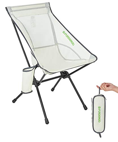 FUNDANGO Folding Camping Chairs Ultralight Compact Backpacking Chair Outdoor Portable for Travel, Picnic, Fishing, Hiking, The Park, Sport