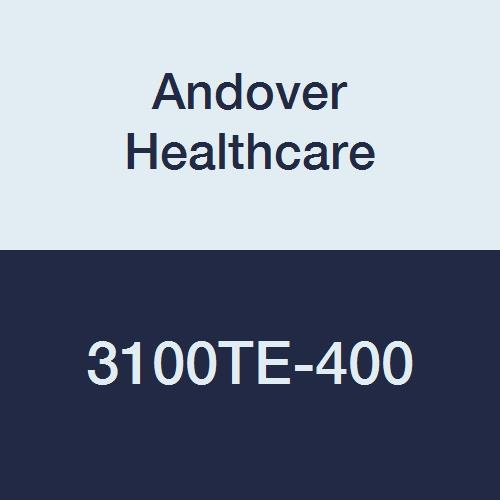 Image of Adhesive Bandages Andover Healthcare 3100TE-400 Coflex Non-Woven Cohesive Self-Adherent Wrap, 15' Length, 1' Width, Teal, Latex Bulk (Pack of 400)