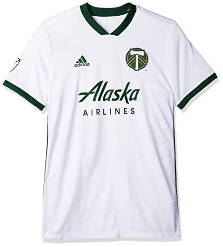 adidas MLS Portland Timbers 7417APTPAZNPTI Men's Replica Jersey, Large, White
