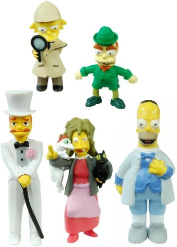 Simpsons 20th Anniversary Figure Collection Seasons 16-20 Case Of - 20th Simpsons Anniversary