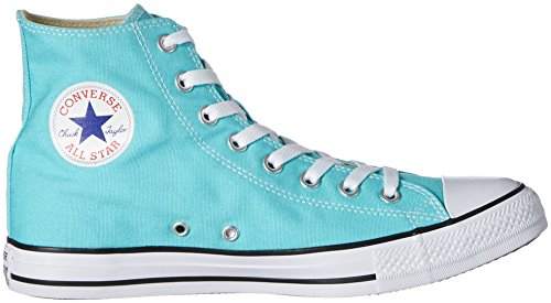 Omvendte Unisex-voksen Converse All-star Høje Sneaker Blå (lys Turkis) w2G7Ay