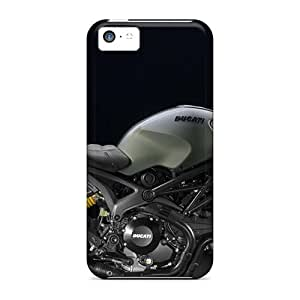 Excellent Hard Phone Covers For Apple Iphone 5c With Support Your Personal Customized Trendy Diesel Ducati Monster Pictures MarcClements