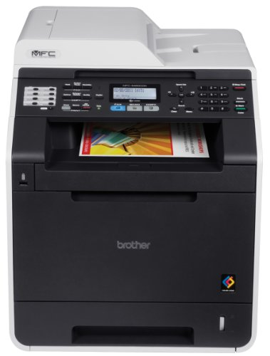 (Brother MFC9460CDN Color Photo Printer with Scanner, Copier & Fax)