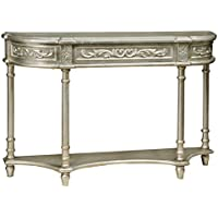 Pulaski Gwyneth Console Table, Silver
