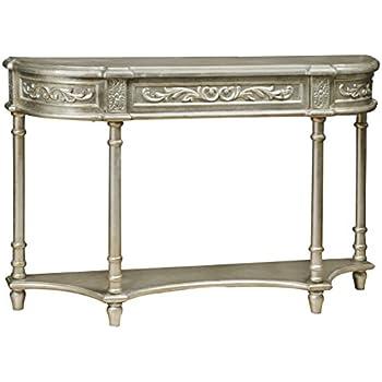 Pulaski Gwyneth Console Table, Silver