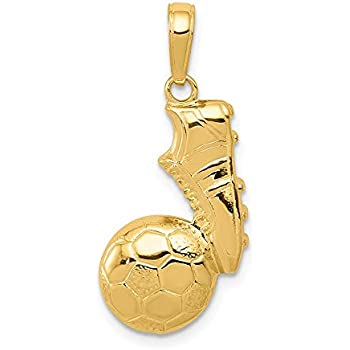 14k Yellow Gold Childrens Enameled Mother Daughter Pendant Kid Charm 20mm x 17mm