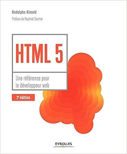 Livre HTML 5