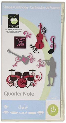 Cricut Cartridge, Quarter Note (Quarter Note Notes Music)