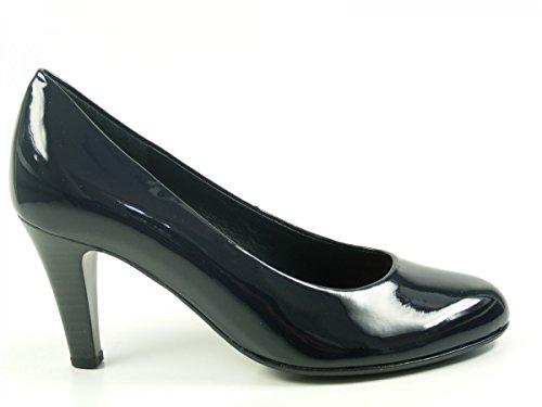Gabor35-210 Zapatos Laqueados para Mujer - azul