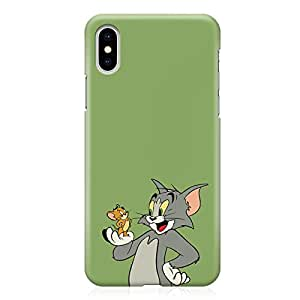 Loud Universe Classic Cartoon iPhone XS Max Case Tom and Jerry iPhone XS Max Cover with 3d Wrap around Edges