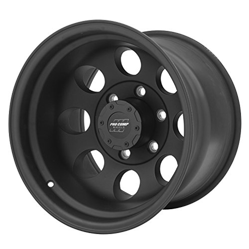 Pro Comp Alloys Series 69 Wheel with Flat Black Finish (15x10''/6x139.7mm) by Pro Comp Alloys