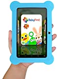 KOCASO [7 INCH] Quad Core [Android 4.4 KitKat] Kid's HD Tablet PC- 8GB Storage W/ 32GB Expandable Memory, 1024x600, Dual Camera, WiFi & Bluetooth, Micro USB/SD Card Slot, Google Play Apps- (Blue)