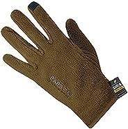 Rapdom Tactical Polar Fleece Gloves, Coyote, Medium