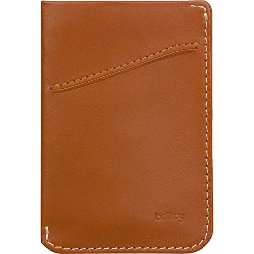 Bellroy Card Sleeve Tan Size