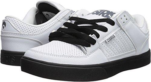 Osiris Men's Protocol Skate Shoe, White/Black/Grey, 12 M (Osiris White Shoes)