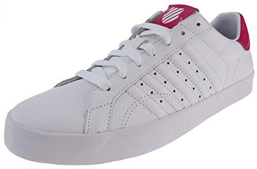K-Swiss Belmont Snake Damen Sneakers white beetroot purple