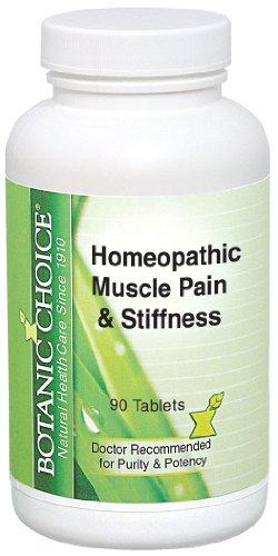Botanic Choice des douleurs musculaires et la raideur homéopathique, 300 mg 90 Count (Pack de 2)