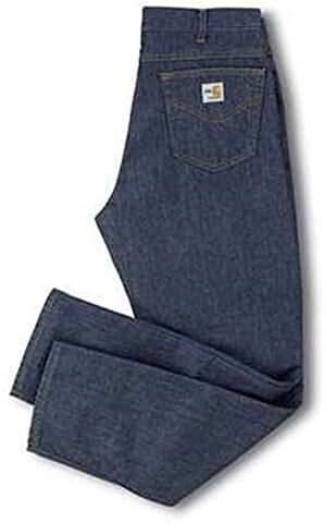 Carhartt FRB150 DNM FR Flame Resistant Prewashed Jeans