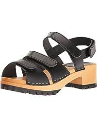 swedish hasbeens Women's Tracta Flat Sandal