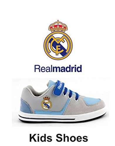Real Madrid Shoes Gray Blue